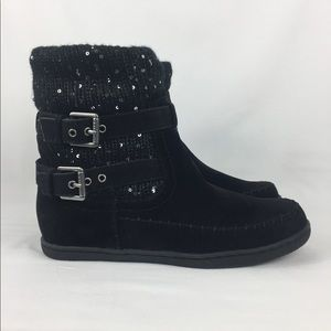 G by Guess Riesling Ankle Knit Cold weather boots